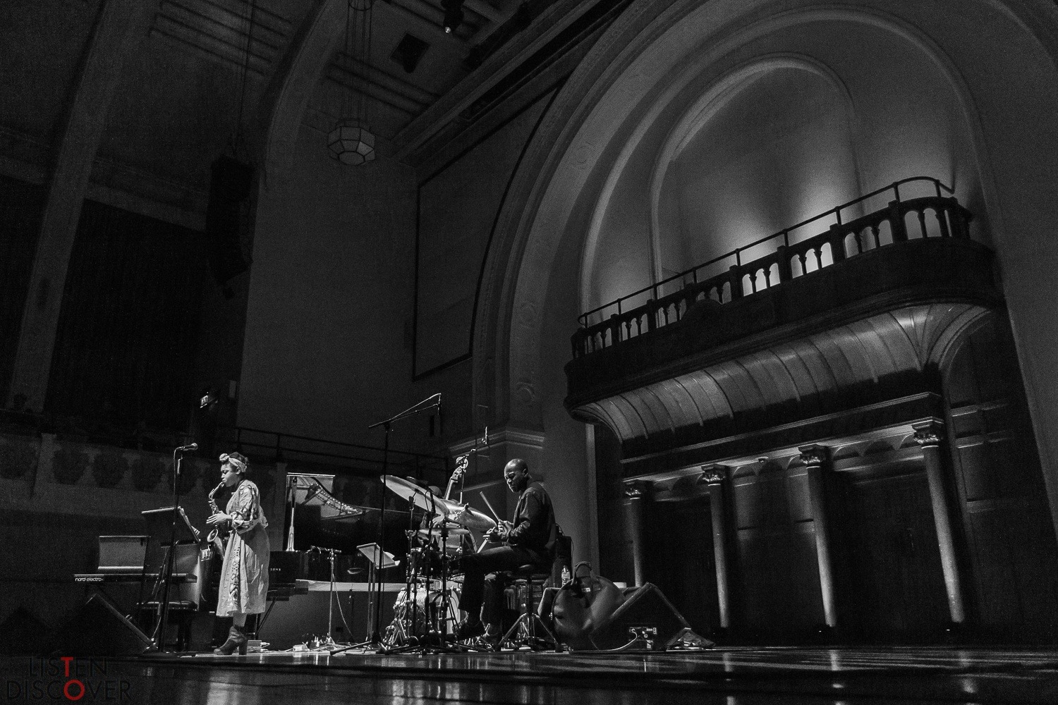 Camilla George at Cadogan Hall - 19th November 2019 EFG London Jazz Festival