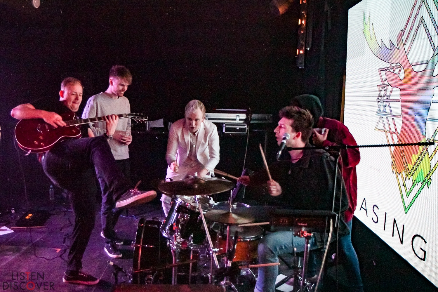 Chasing Deer at Brixton Jamm - 7th February 2020