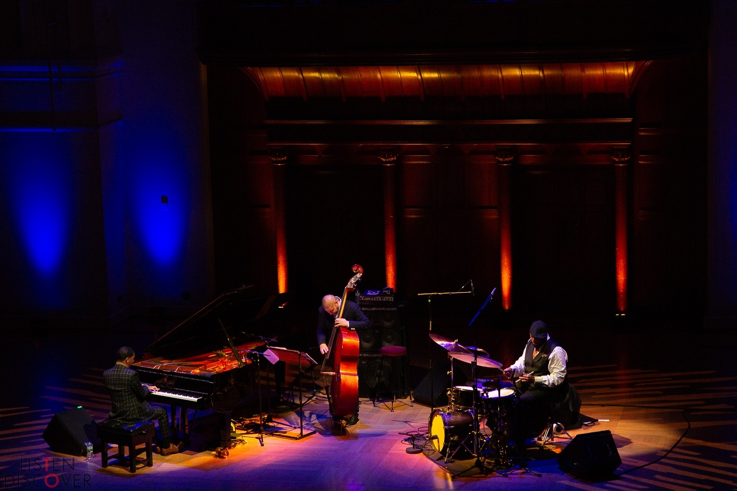 Christian Sands at Cadogan Hall - 19th November 2019 EFG London Jazz Festival